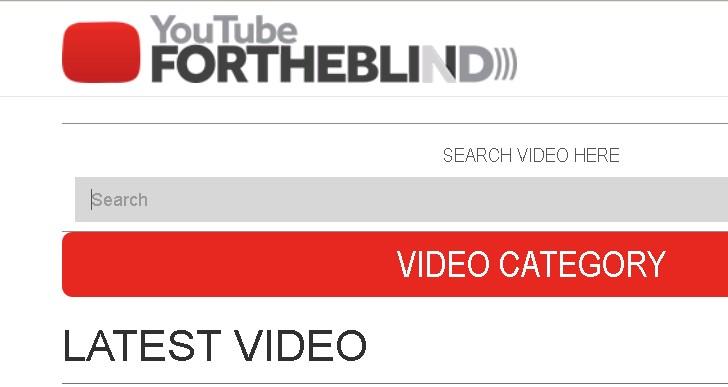 Teknologi Menonton Youtube Untuk Tunanetra