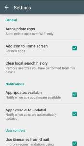 cara menonaktifkan pemberitahuan update aplikasi